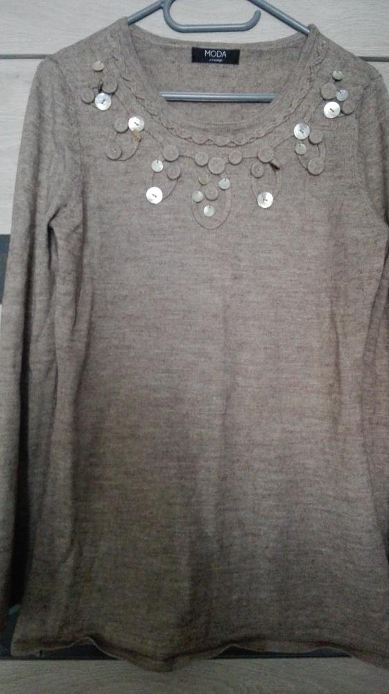 Bluzki Bluzka z wełną