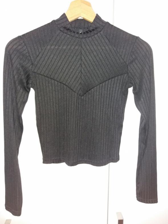 czarna bluzka stradivarius 36