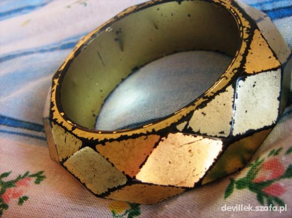 bransoleta stare złoto