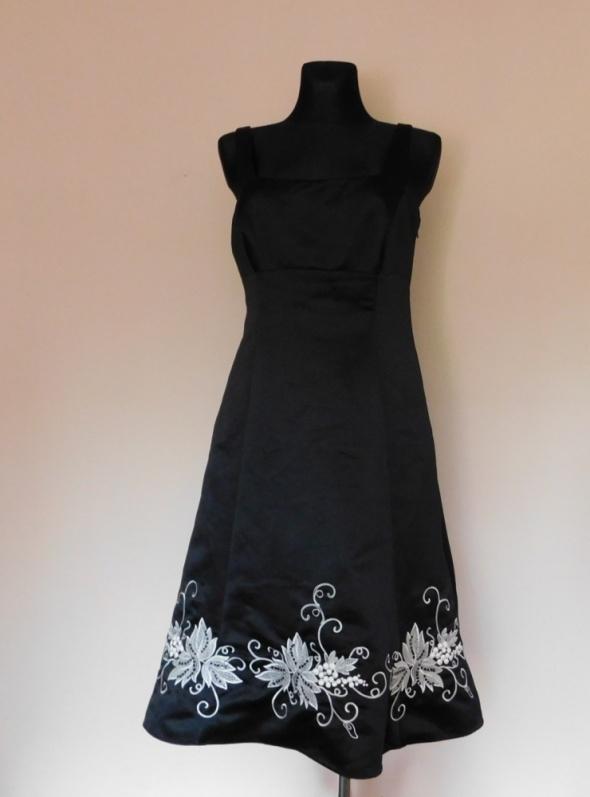 Debenhams suknia czarna midi 40...
