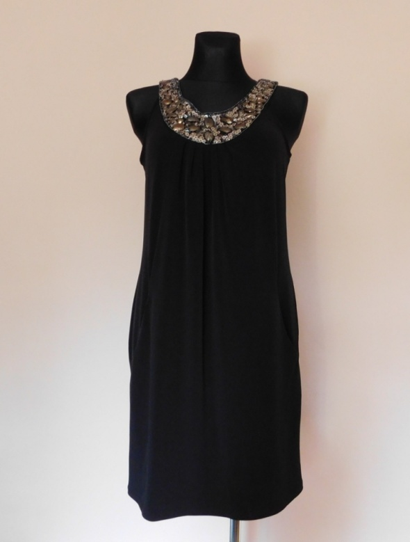 Wallis czarna sukienka mini 40...