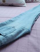 Rurki Tally Weijl 32 XXS skinny jeansy wąskie małe