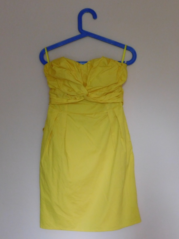 Coast żółta sukienka 36 38...