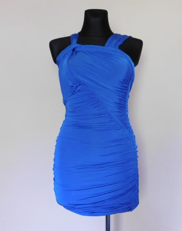 Asos niebieska sukienka sexy mini 36...