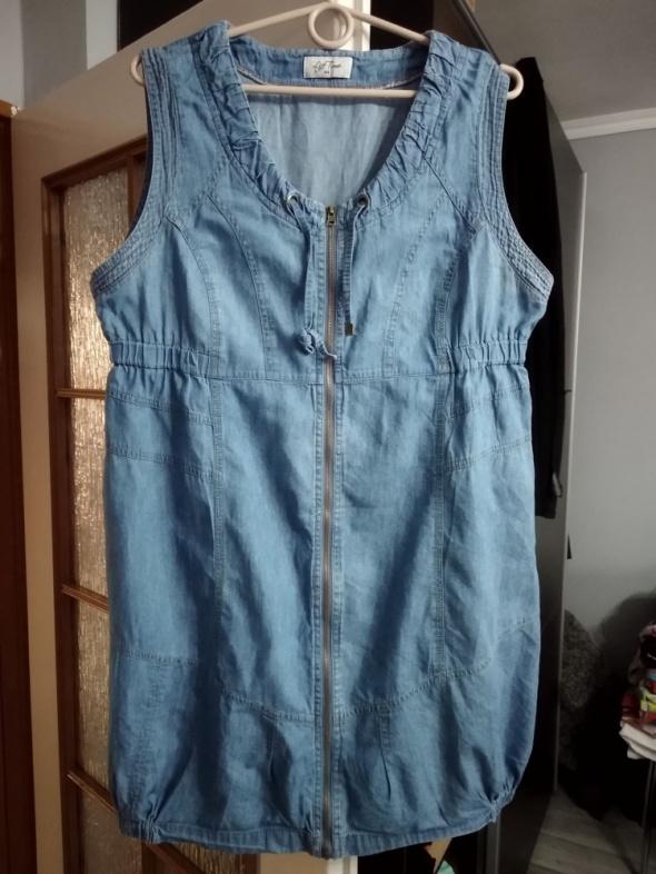 Sukienka jeansowa roz 44