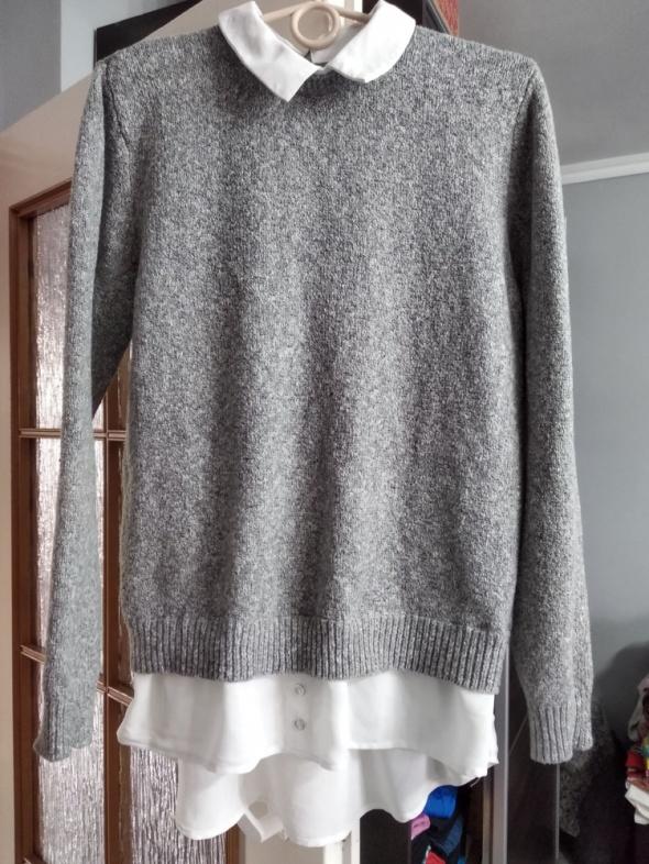 Sweterek łączony z koszulą Atmosphere roz 42