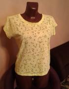Neonowa żółta bluzka...
