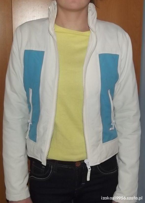 Biało niebieska kurtka wiosenna firmy ONLY...