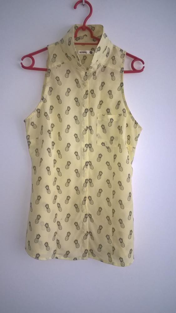Bluzka z oryginalnym wzorem