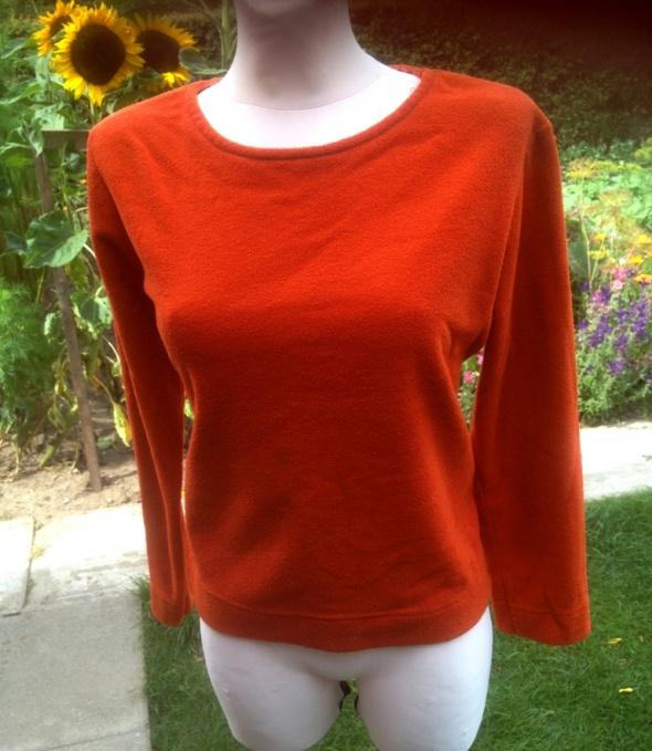Pomarańczowa polarowa bluzka Street One 38