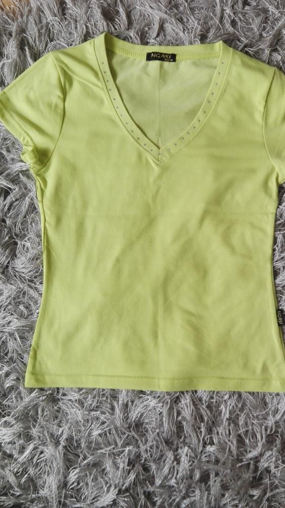 Limonkowa bluzka