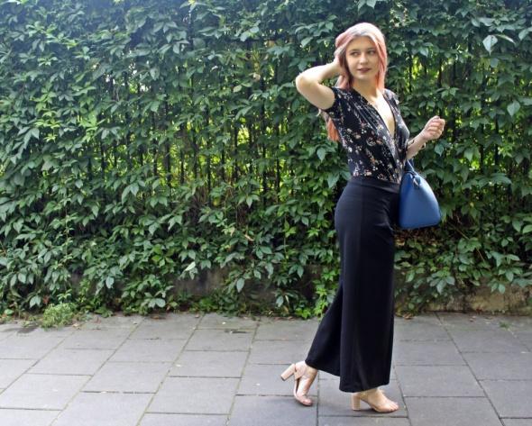 Blogerek Czarne kuloty i body