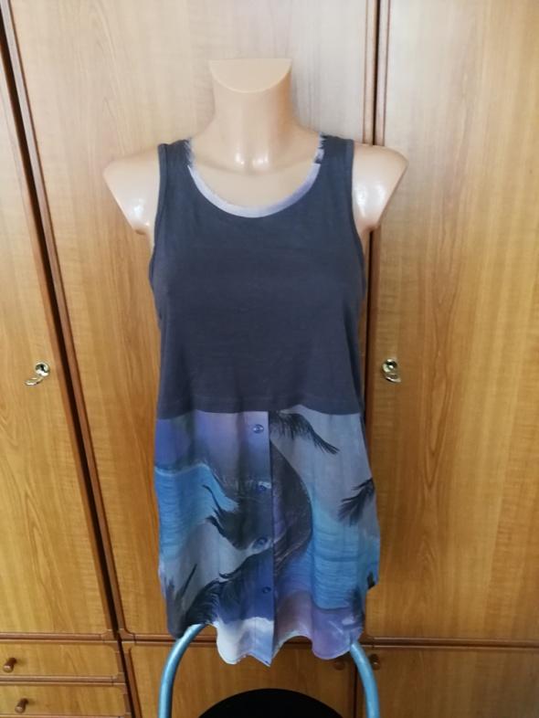 Tuniki Tunika długa bluzka koszula Firetrap S NOWA