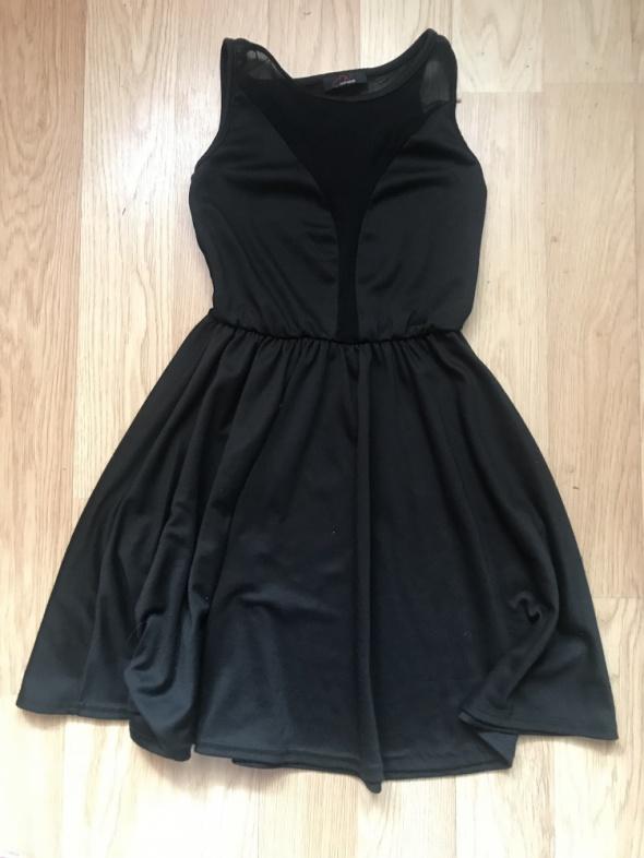 sukienka siatka