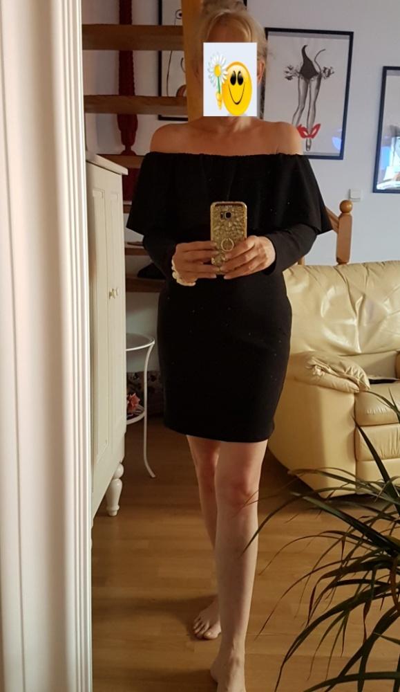 Czarna sukienka hiszpanka M L
