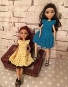 Rękodzieło sukienka dla lalek Barbie i podobnych...