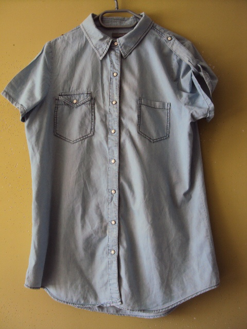 0cb67228c36fc 62333e8ecdd2 H M Koszu A Jeansowa Dżinsowa Jeans Jasna Napy Vinted
