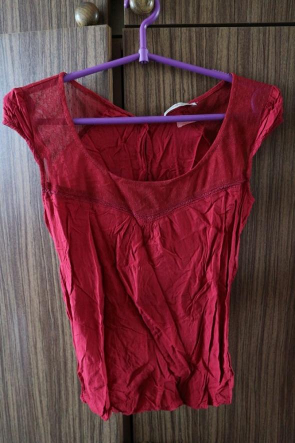 Czerwona urocza bluzka Bershka XSS...