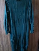 Zgrabna midi sukienka XSM ołówkowa wizytowa
