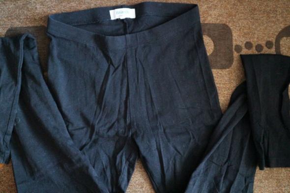 Klasyczne czarne legginsy firmy Zalando XS