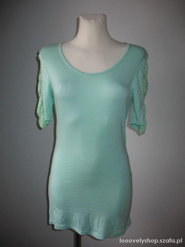 Miętowa Zielona bluzka nowa S ICHI...