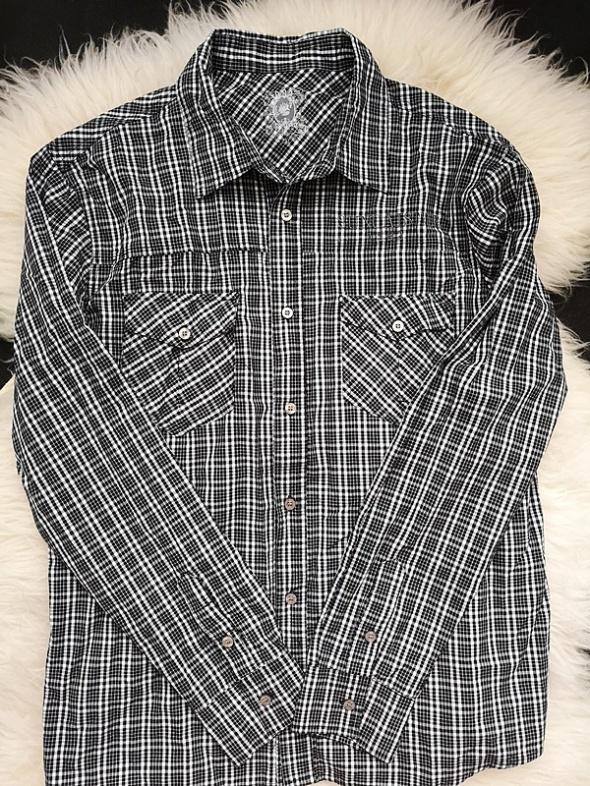 Koszula męska w krate nowa XXL