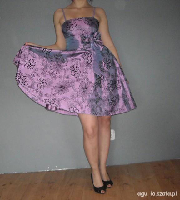 Suknie i sukienki Sukienka PIN UP z kokardą XS S M