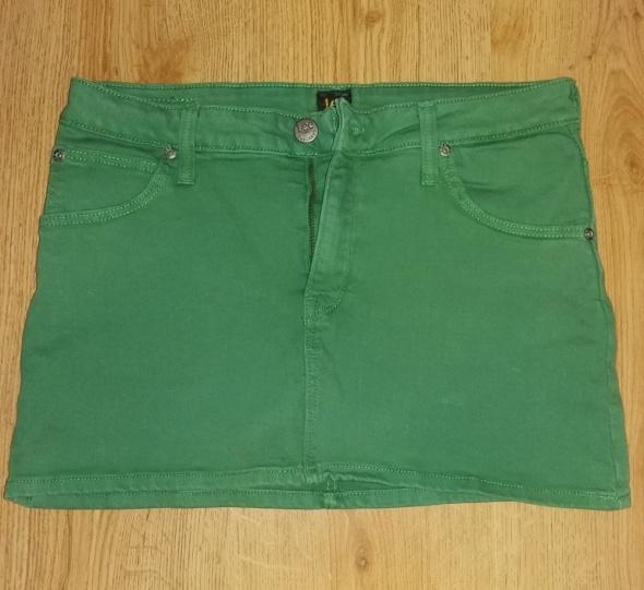Spódniczka zielona Lee rozmiar S...