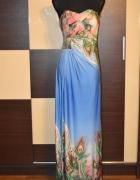 Nowa zjawiskowa sukienka S długa