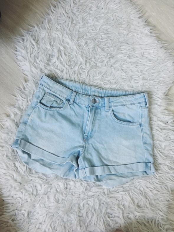 H&M jeansowe dżinsowe szorty spodenki 36 S...