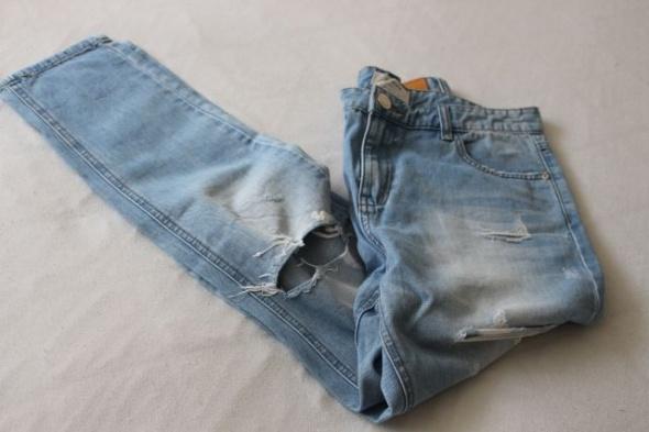 spodnie jeansy boyfrend stradivarius s