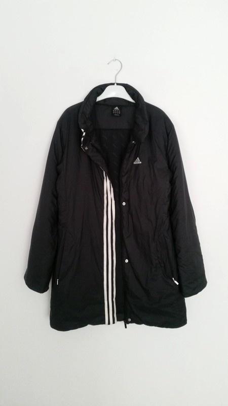 Promocja Przedluzana kurtka plaszcz Adidas oryginalna