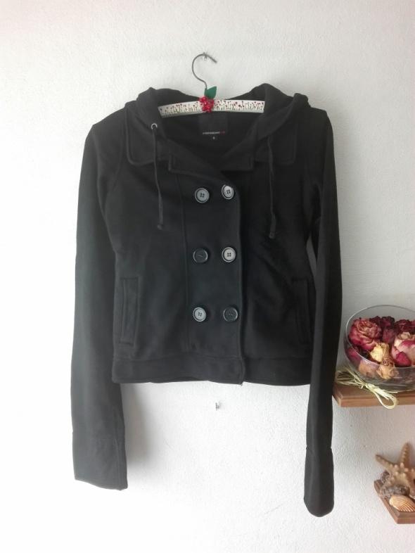 Czarna bluza z kapturem Fishbone...