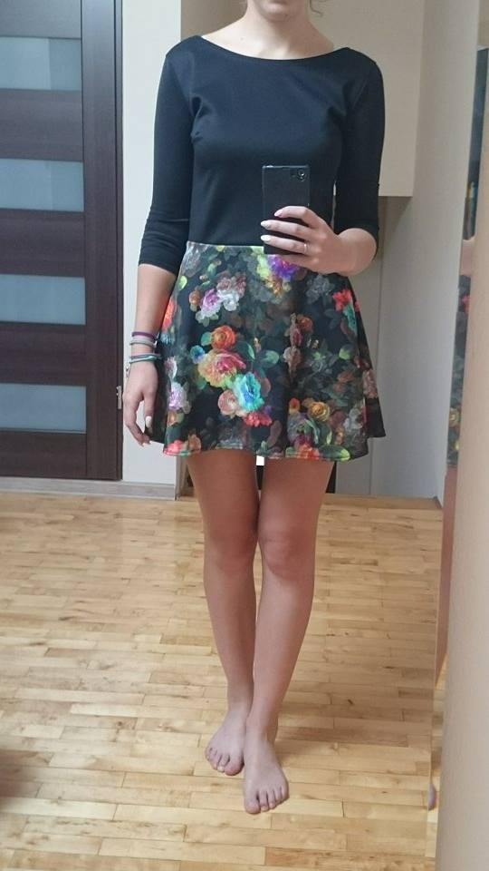 Nowa sukienka floral