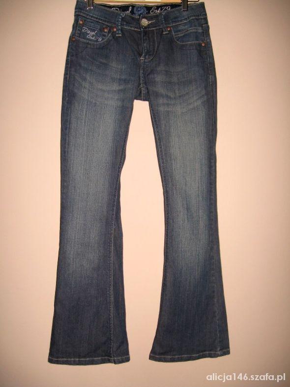 Diesel Jeans spodnie jeansy XS...