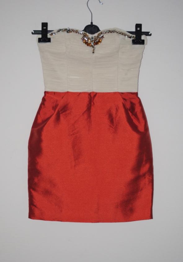 sukienka mango kamienie s...