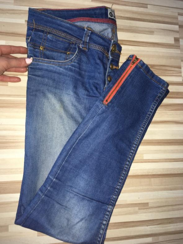 TERRANOVA jeansy skinny rurki XS 34