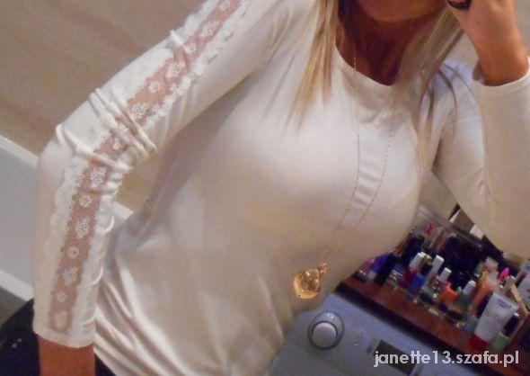 Bluzeczka Pretty Girl koronka XS