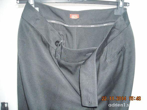 Czarne eleganckie spodnie 38 ESPRIT...
