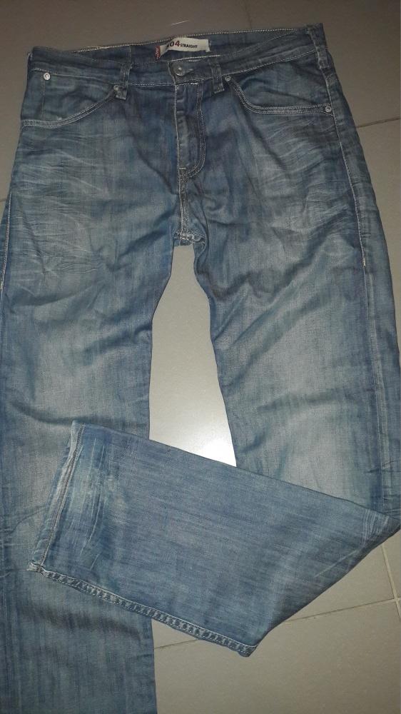 Męskie Spodnie Levis 504 Regular Straight Jeans