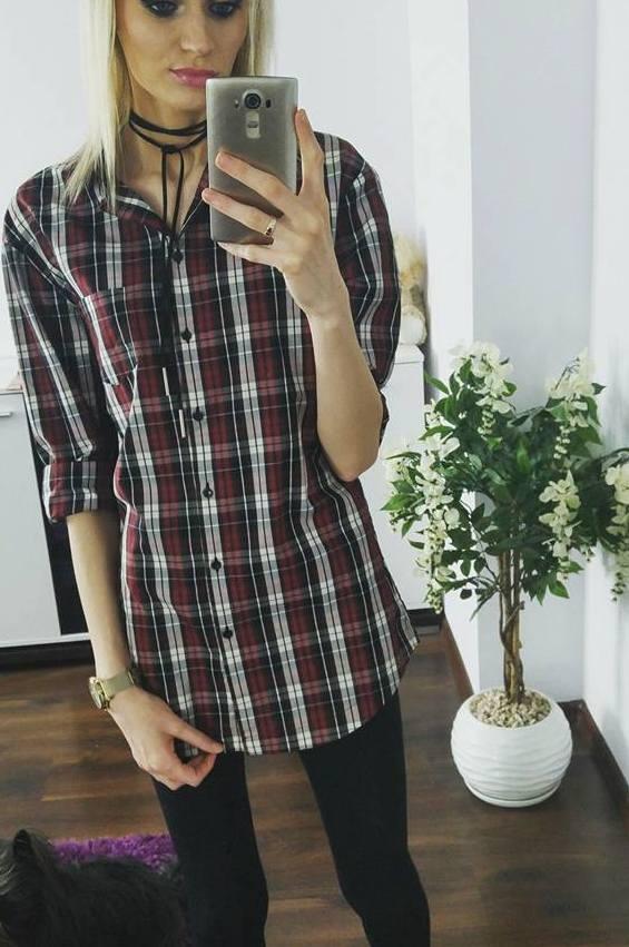 Koszula long oversize