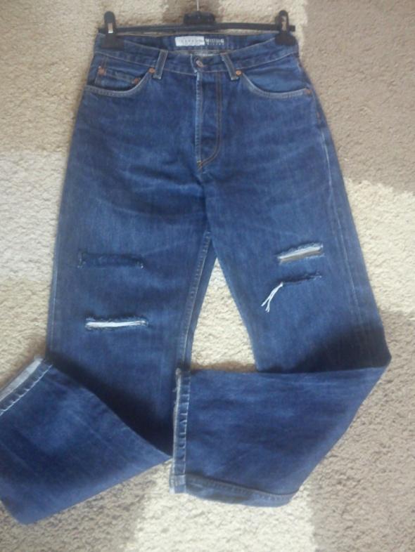 Spodnie jeansowe MUSTANG wysoki stan 38...