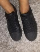 nowe czarne oryginalne adidas superstar...