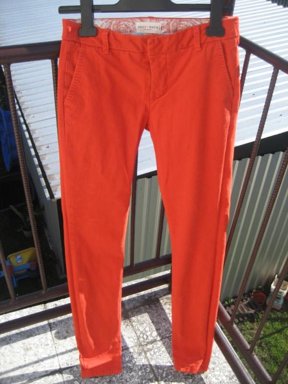 Pomarańczowe spodnie...