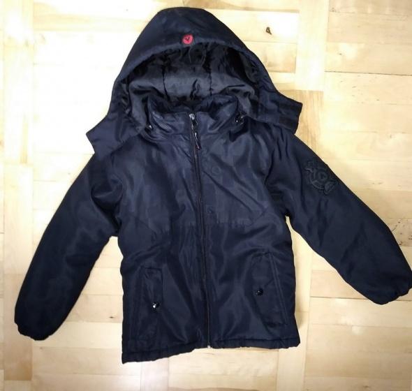 Czarna ciepła kurtka dla chłopca Airwalk 7 8 lat