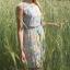 Pastelowa sukienka w kwiaty F&F...