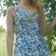 Sukienka w kwiaty falbanki...