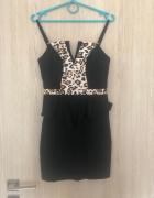 Sukienka Guess z Baskinką...