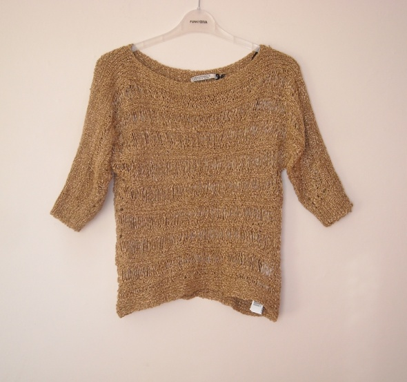 ażurowy sweter stradivarius m...