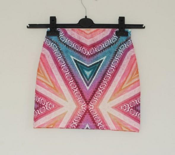 kolorowa spódniczka zara s xs